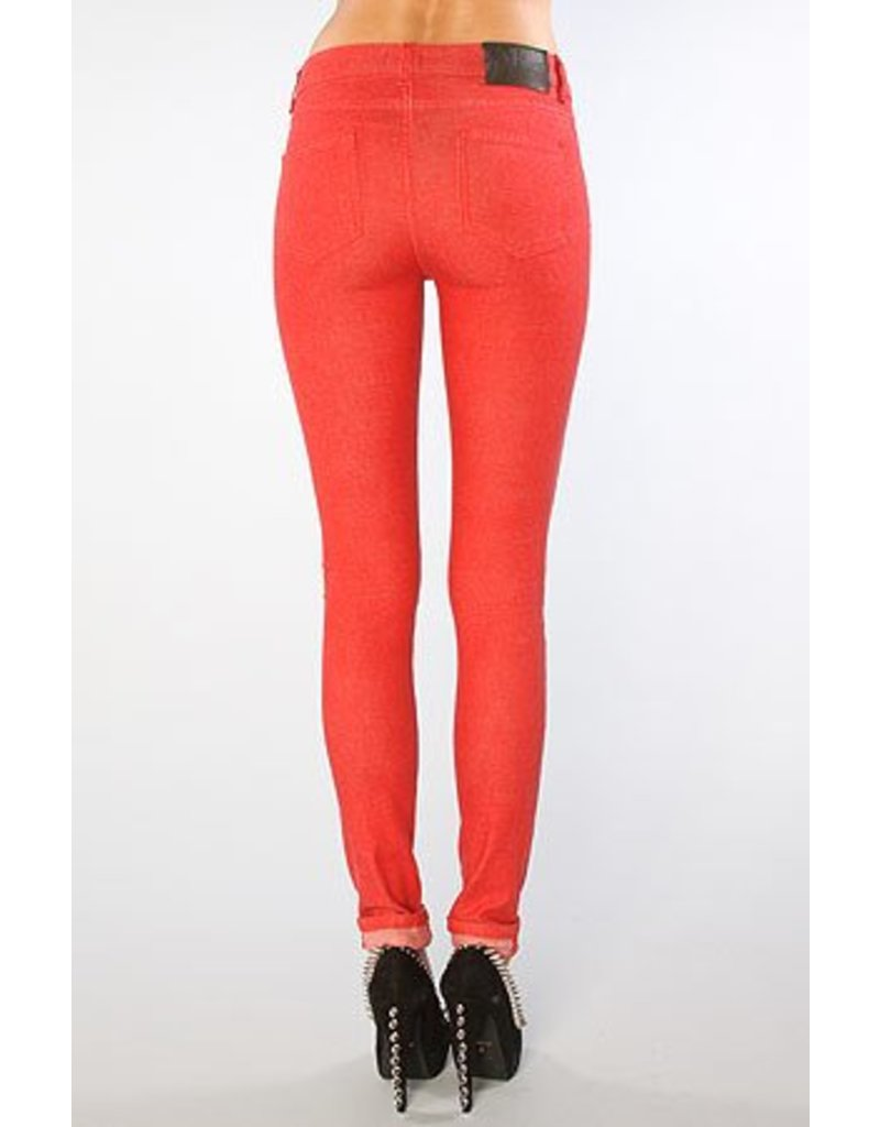 Naked & Famous The Skinny - Red -