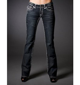 Laguna Beach Monarch Bay Dbl White Stitched Bootcut -