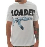 Mafioso Loaded T-Shirt - Wht/Silver