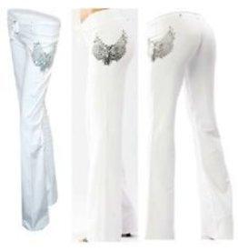 SoCal Nu Life Yoga Pants - Wht -