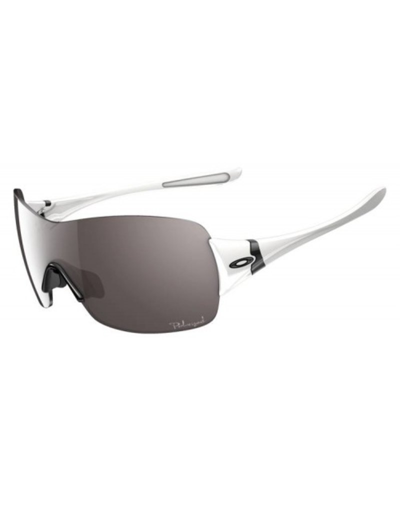 Oakley Miss Conduct Squared - Polarized White w/ Grey