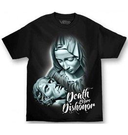 Mafioso Death Before Dishonor T-Shirt - Blk -