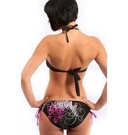 SoCal Lacer Foil Bikini Bottoms