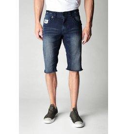Laguna Beach Crystal Cove Newport (Dark Blue) Wash Cut Off Denim Shorts