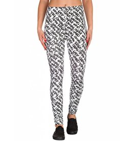 Crooks & Castles Street Leggings - Blk