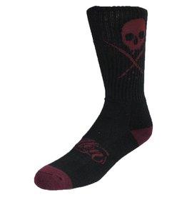 Sullen Standard Issue Socks - Blk/Burg