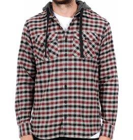 Unit Kodiak Hooded Flannel