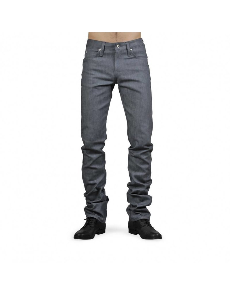 Naked & Famous Skinny Guy Grey Stretch