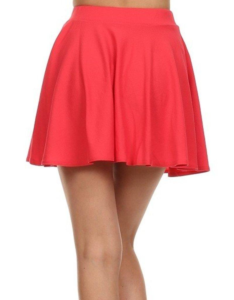 Love It Mini Skirt - Hot Pink