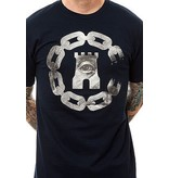 Crooks & Castles Currency Chain T-Shirt - Navy