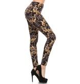 Love It Jazzy Fizzle Leggings - O/S