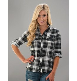 Trend Notes Tartan Plaid Shirt