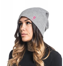 Sullen Lounge Slouch Beanie - Heather Grey