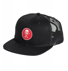 Sullen Red Circle Trucker Hat