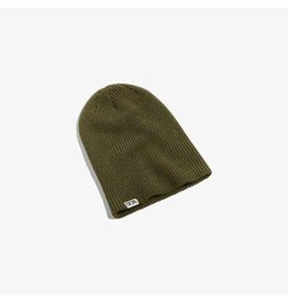 Dope Woven Label Beanie - Olive