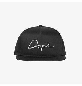 Dope Script Snapback - Black