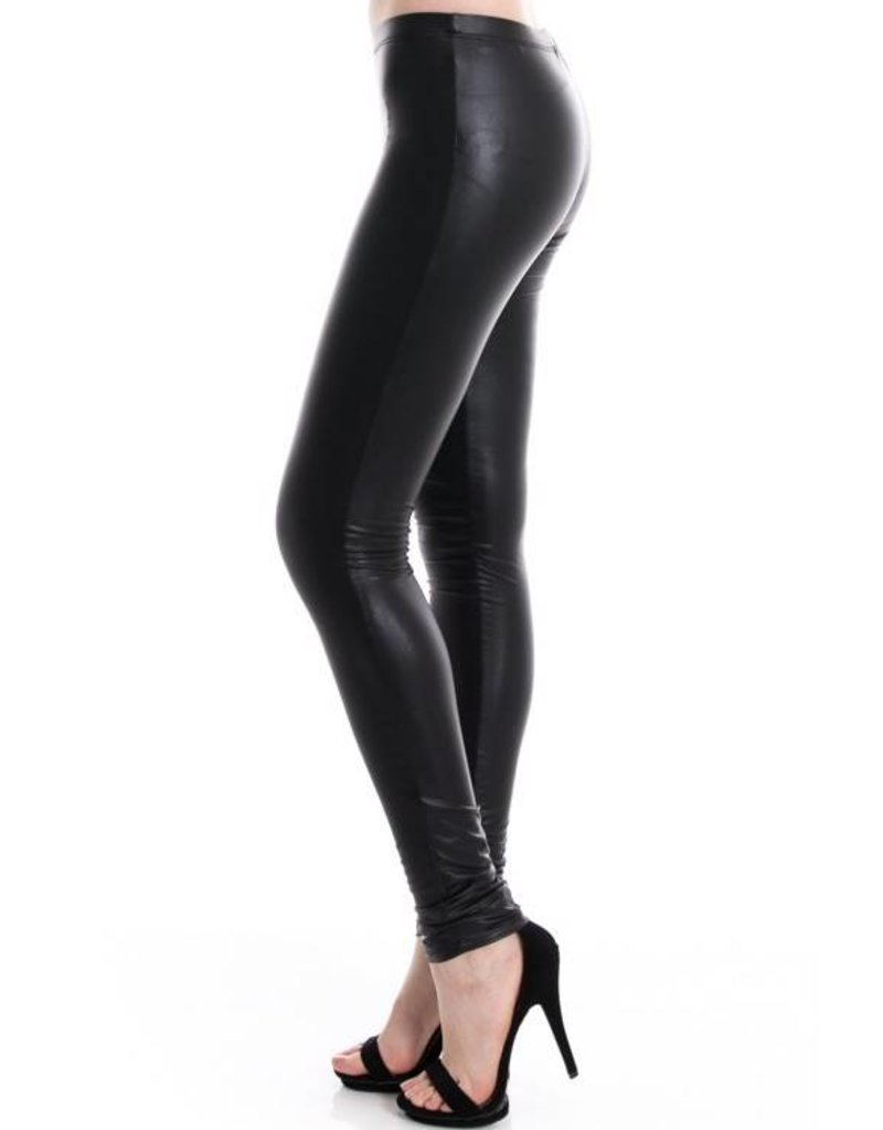 1MadFit Faux Leather Leggings