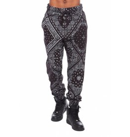 CODEONE Paisley Sweatpant - Black