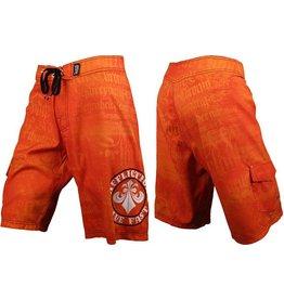 Affliction Break Boardshorts - Orange
