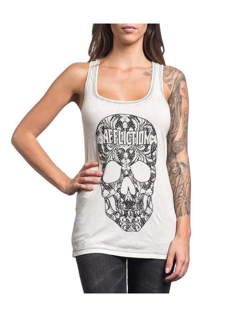 Affliction Kelsey Skull Tank