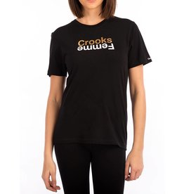 Crooks & Castles Mirror Logo T-Shirt - Black