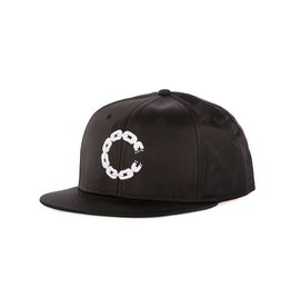 Crooks & Castles Chain C Snapback - Black