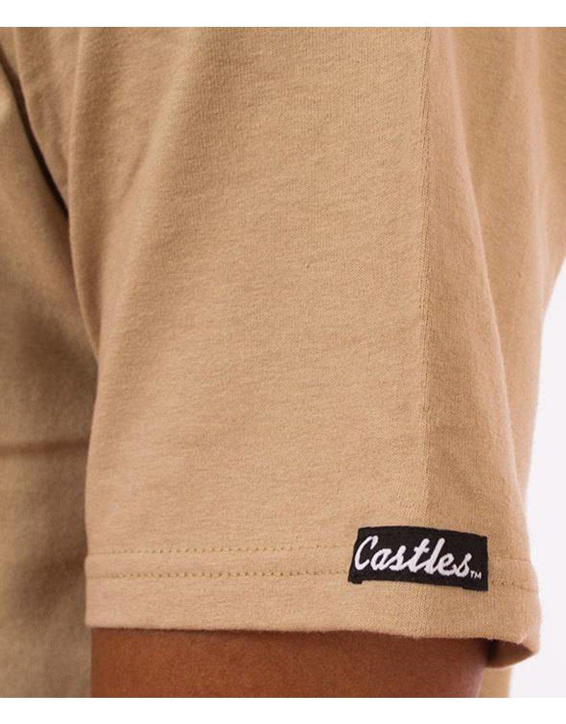Crooks & Castles Classified T-Shirt - Khaki