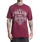 Sullen Crested T-Shirt - Burgandy