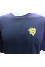 Gildan Embroidered Tee Shirt Navy