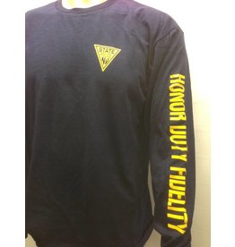 Long Sleeve Tee Shirt  Navy