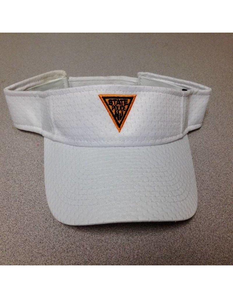 Hat Visor White