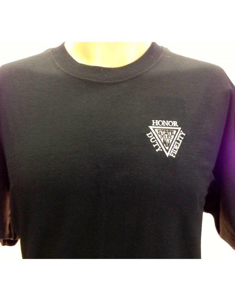 Gildan Embroidered Black Tee Shirt
