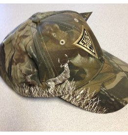 Camo Embroidered Buck Hat