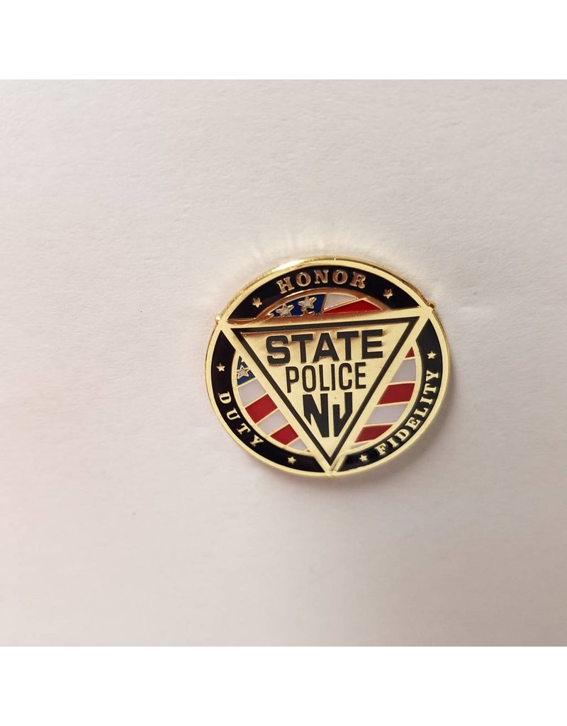 Red, White and Blue Flag Pin