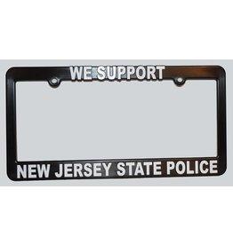 NJSP License Plate Frame