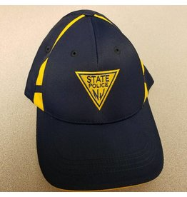 Two tone hat Navy-Gold logo