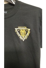 T-Shirt with Gold SP logo 'DEDICATED TO THOSE WHO HAVE SERVED'