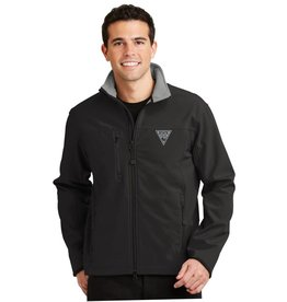 Landway Matrix Soft shell Jacket - Black