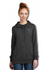 Ladies Cowl Neck Hooded Sweatshirt