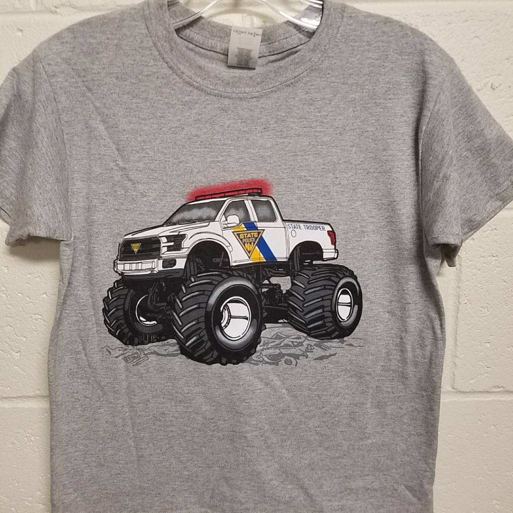 Monster Truck Tee - Youth