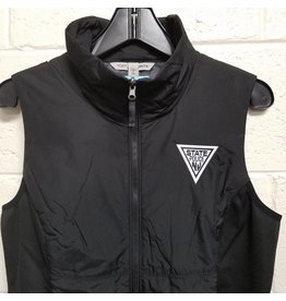 Ladies Full Zip Vest - Black