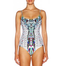 Swimwear Camilla - Round Neck Scoop Back Onepiece