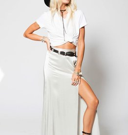 Skirt Stillwater - Mock Wrap Maxi Skirt