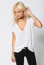 T-Shirt Stillwater - The Linen Scoop Neck Tee