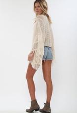 Sweater Goddis - Island Gypsy Sheer Knit Top