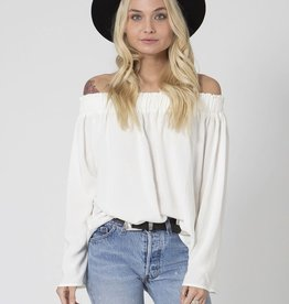 Stillwater - Sun Kissed Shoulder Top