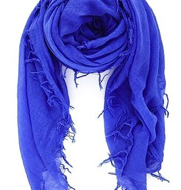 Scarves Chan Luu - Baja Blue Cashmere And Silk Scarf