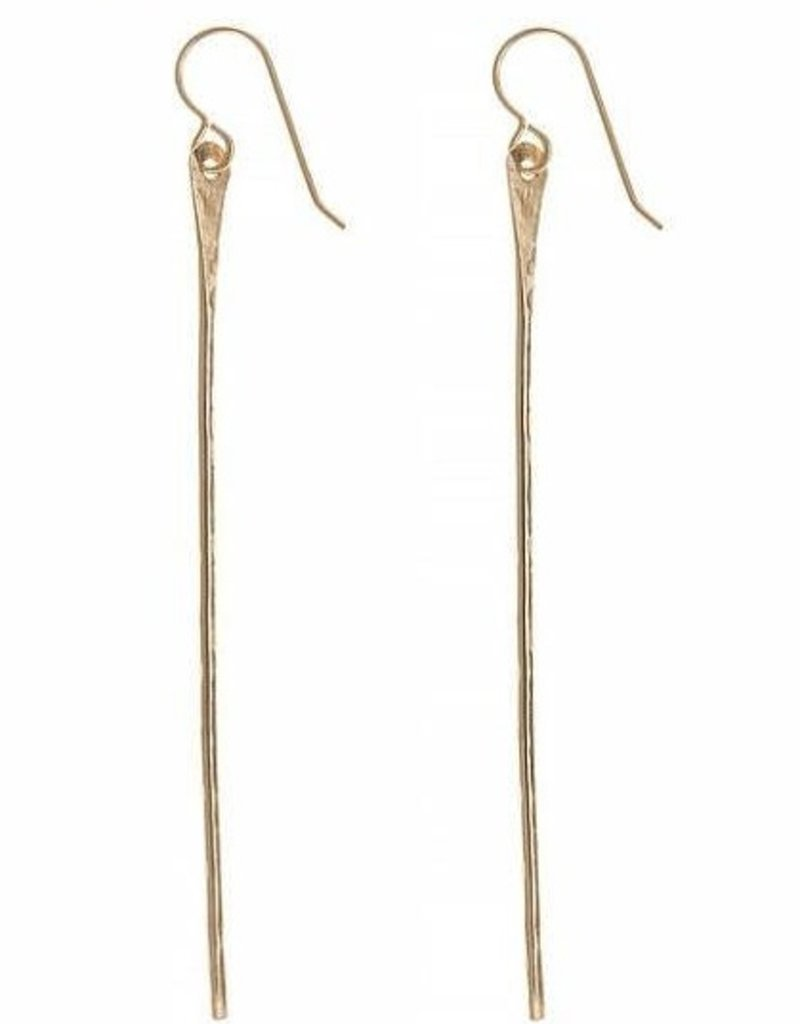 Earrings Wahine Rox - Pahi Gold Earrings