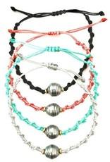 Bracelets Wahine Rox - Braided Tahitian Pearl Bracelet