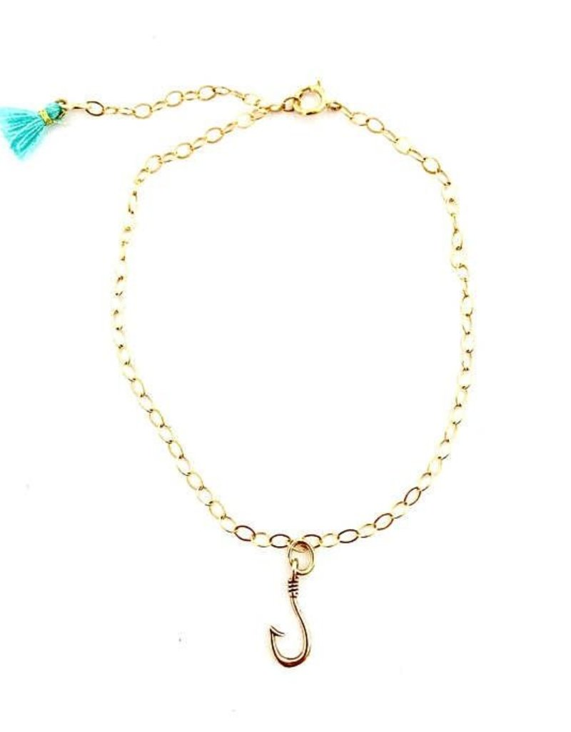 collections anklets anklet womens fish products designs ocean love kialoa hook